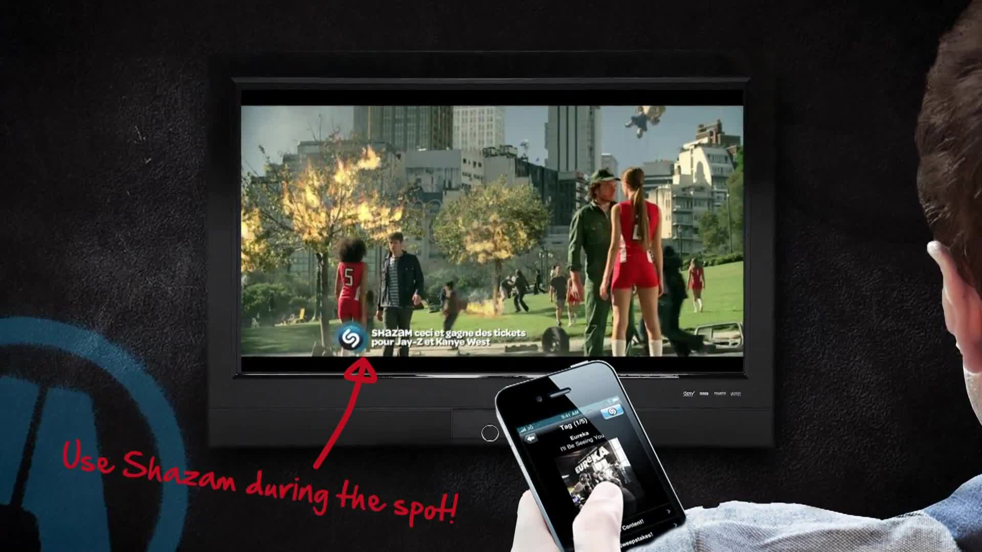 Que Ofrecen Los Anuncios Axe Shazam Tv Integration